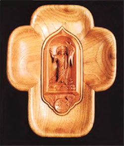 "Image ""A Small Wood Cross"" (18 x 15 x5cm) by DDE(f)"