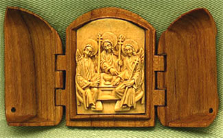 "Icon""Holy Trinity"" (44x73x9mm) by DDE(f)"