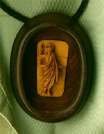 Medallion `Christ`